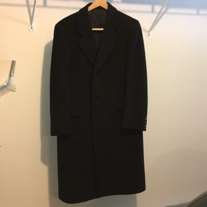 Men's Savile Row overcoat